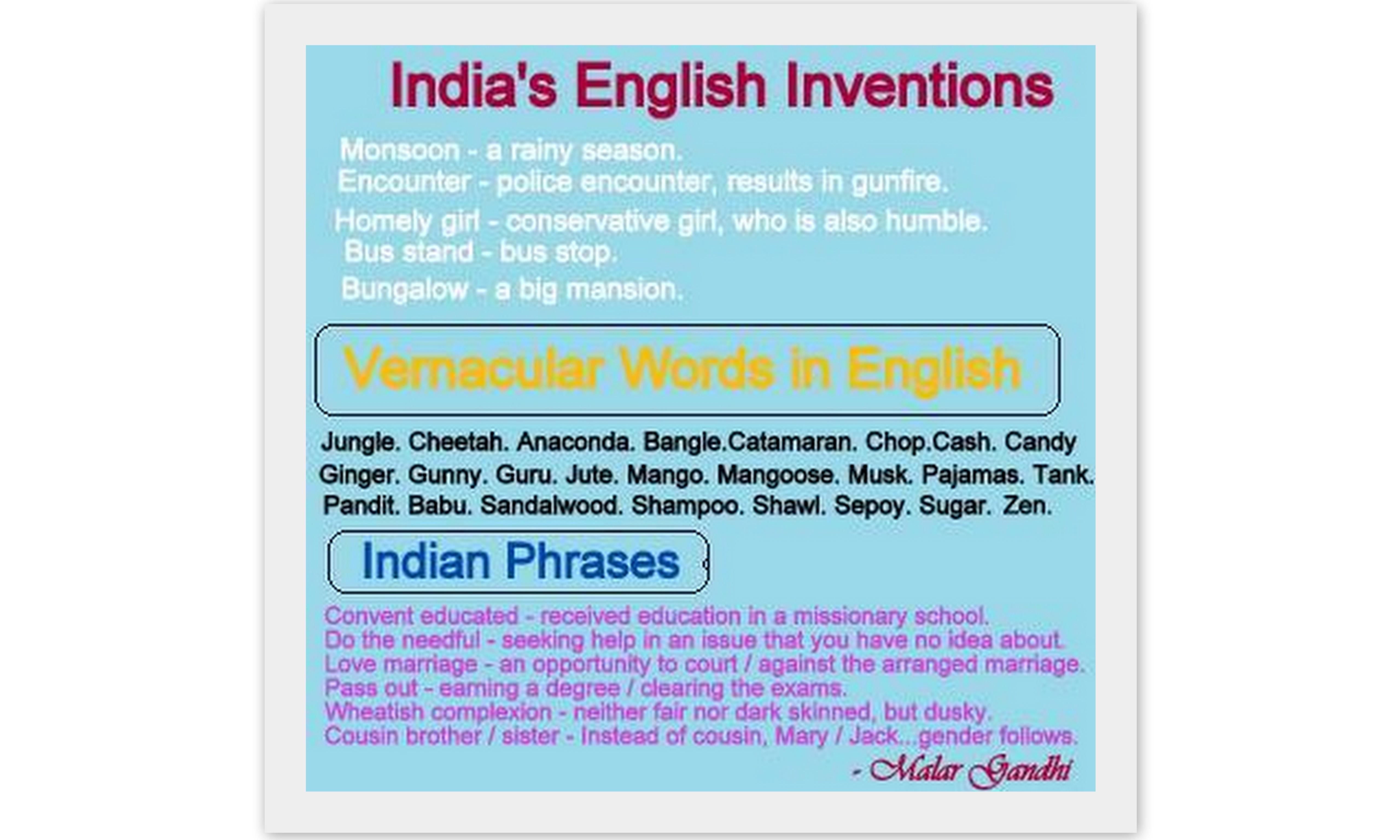 Indian Ingleez