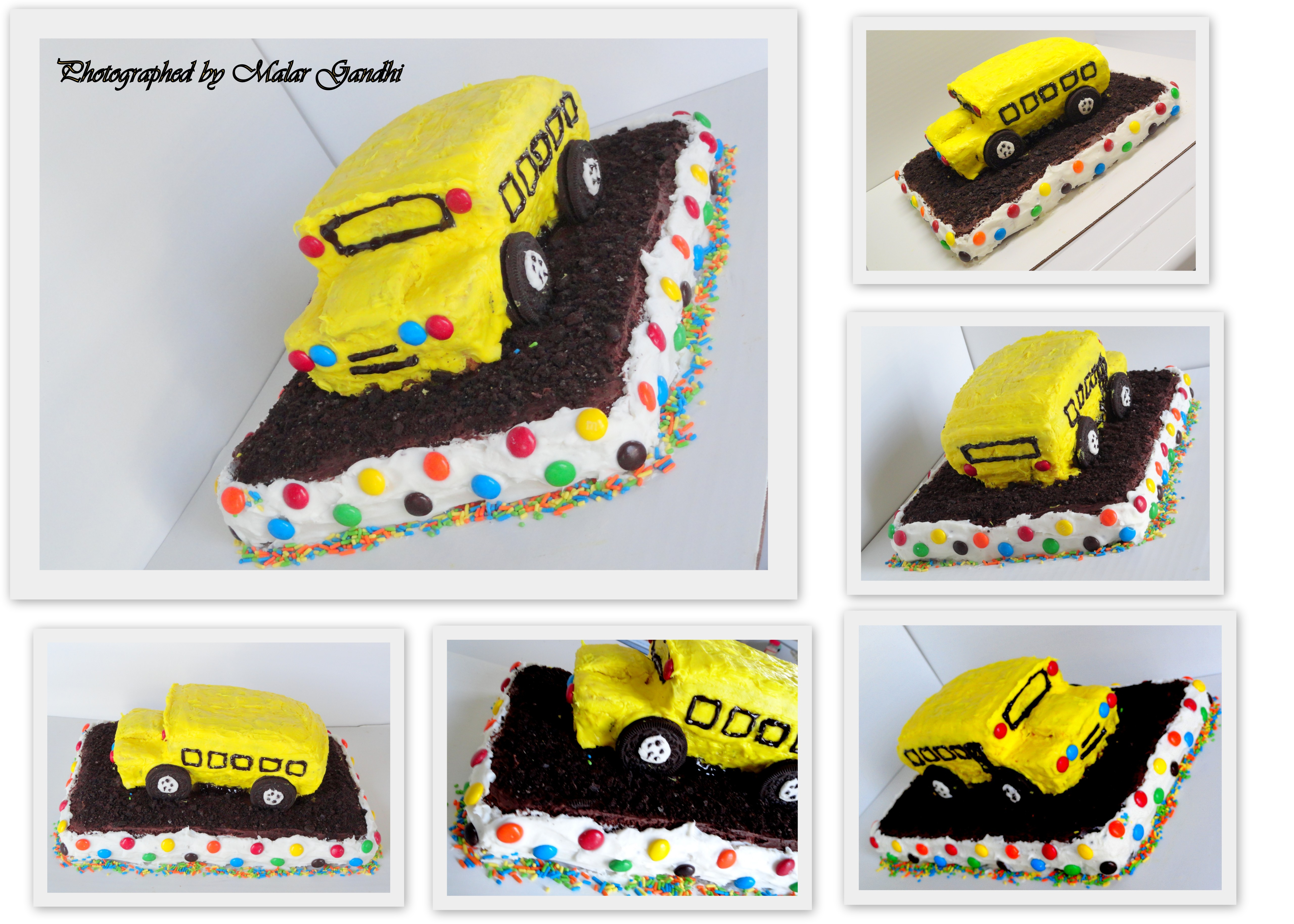 The School Bus Birthday Cake Kitchen Tantra