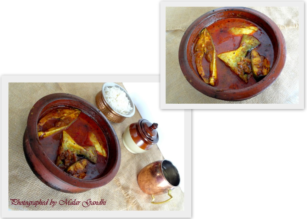 Clay pot fish curry very earthy kitchen tantra for Clay pot fish